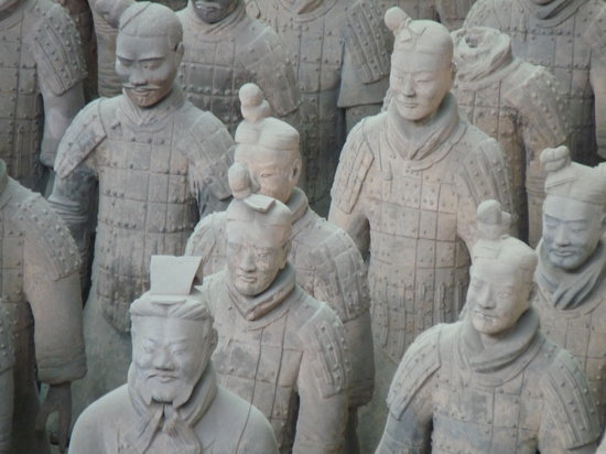 Chiny: Terracotta Warriors
