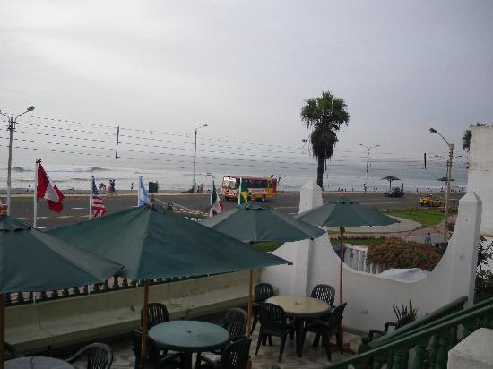 Hostal El Malecon: view from room