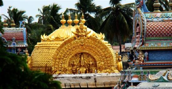 Sri Ranganathaswamy Temple: Gold domed Sri Vimanam
