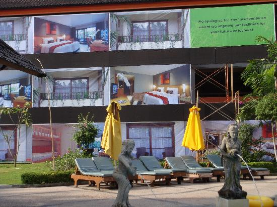 Bali Dynasty Resort: renovation