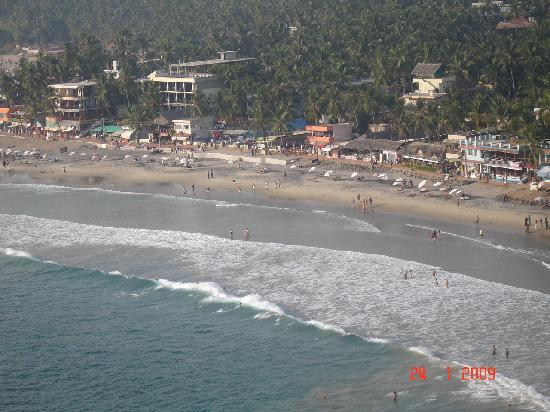 Lighthouse Beach: Kovalam Beach view