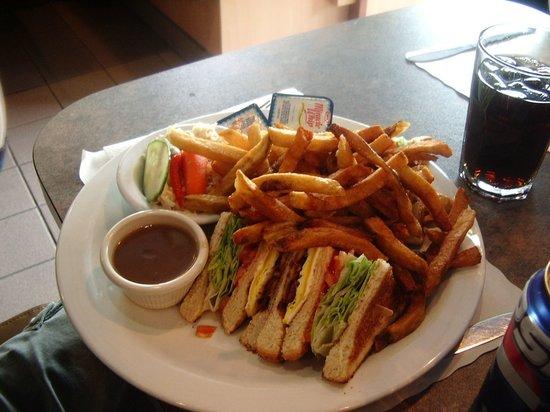 Restaurant Chez Auger: Excellents Sandwichs