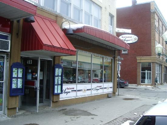 Restaurant Chez Auger: restaurant fort sympathique au 493 5E rue à Shawinigan