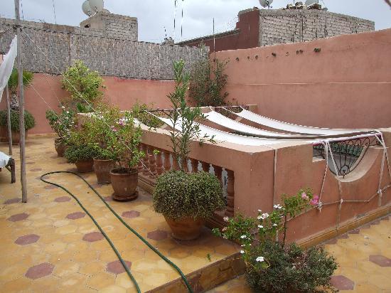 Riad Diarna : La terrasse
