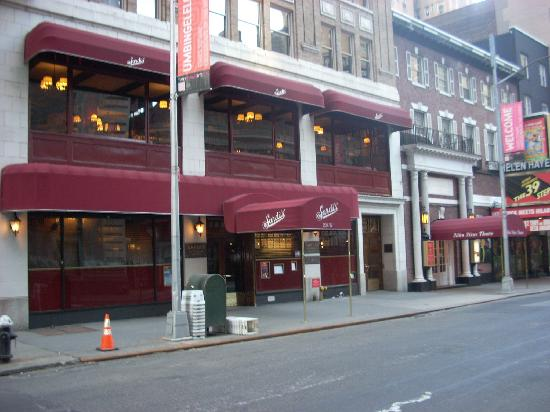 Sardi's Restaurant: A shot of Sardi's from across the street.