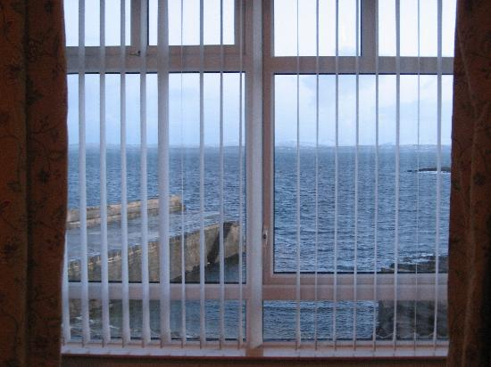 Creevy Pier Hotel: Our gorgeous view from our room!