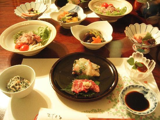 Kaminomori: 夕食