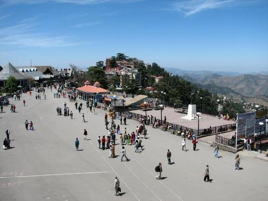 The Mall at Shimla