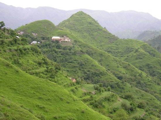 Beautiful Lush Green Hills of Shimla