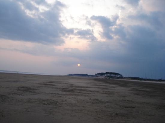 Digha, Indien: Sunset