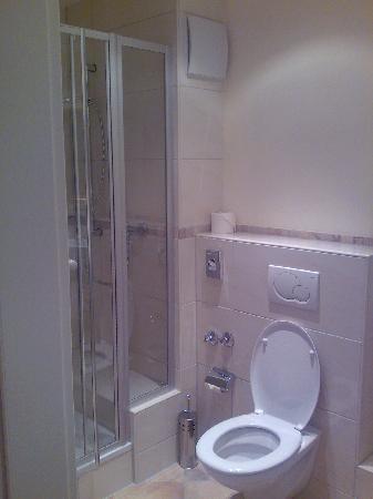 Hotel Villa Medici: Badezimmer mit Dusche