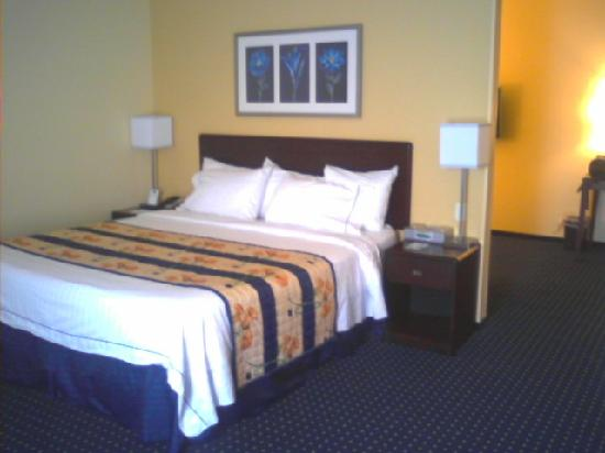 SpringHill Suites Omaha East/Council Bluffs, IA: Bedroom TV and Drawers