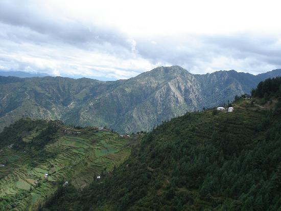 Mussoorie, Indie: Dhanulti