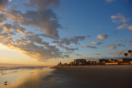 Ormond Beach, Флорида: nice sunrise