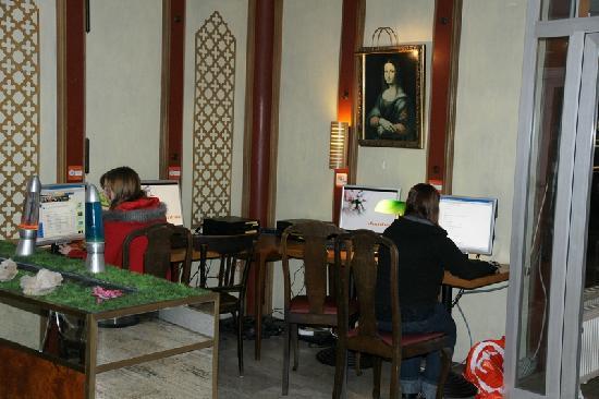 Smart Stay Hostel Munich City: Internet area