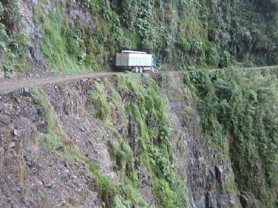 La Paz, Bolivie : On the Death Road 2