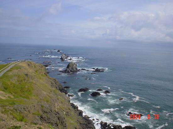 Cape Erimo: 絵葉書そのままの襟裳岬
