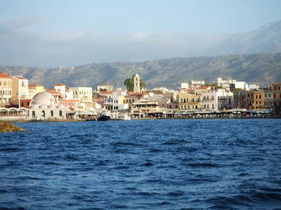 Pension Eva : Old harbour Chania