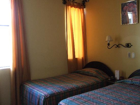Hostal El Triunfo: 最初のお部屋