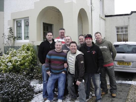 Neidpath Bed & Breakfast: Rhondda Jolly Boys