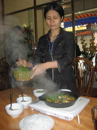 Hanoi Fortune Hotel: yum! cha ca la vong