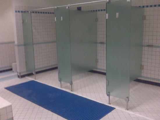 Mixed gender shower