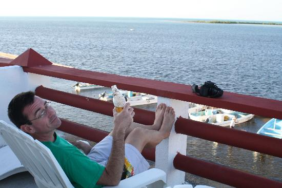 Hotel San Felipe: Enjoying the view