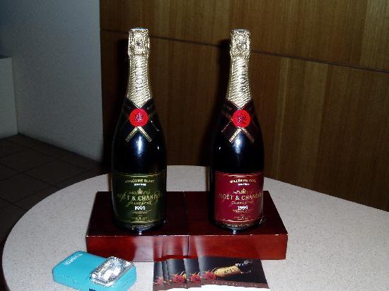 Moet et Chandon Champagne Cellars: 試飲させていただけます