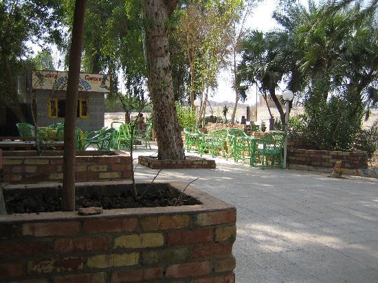 Pharaohs Hotel & Restaurant: The terras