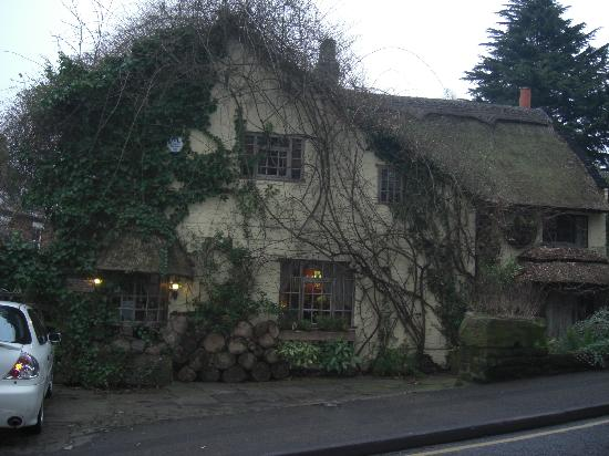 Wizards Thatch at Alderley Edge: The cottage