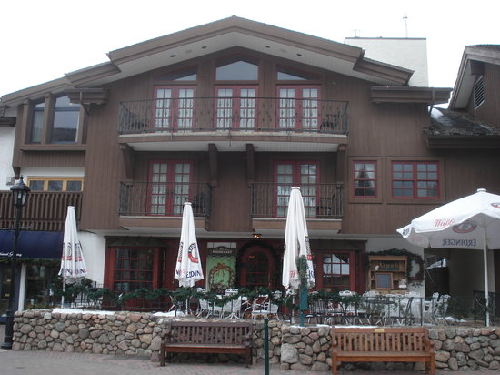 Alpenrose Restaurant: The outside of the Alpenrose
