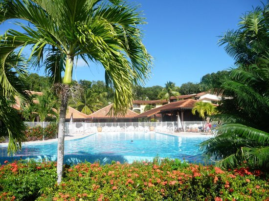 Residence de l'Anse Caritan : piscine de l'hôtel