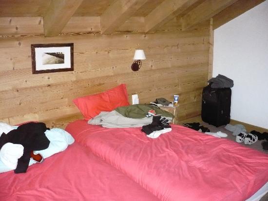Chalet Balias : Attic bedroom