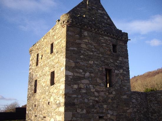 Conifers Leisure Park: Carsluith Castle - what a find!