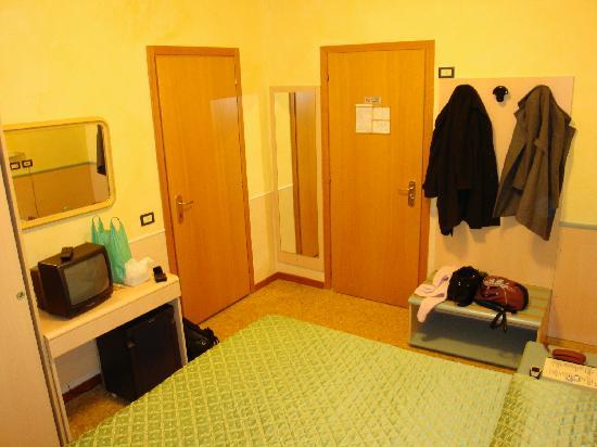 Hotel Corallo : La camera, vista 2