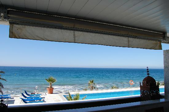 Marina Mariola Marbella: the gorgeous view from our apartment
