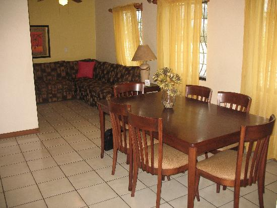 Taranova Villas Palmas Dining Room Living