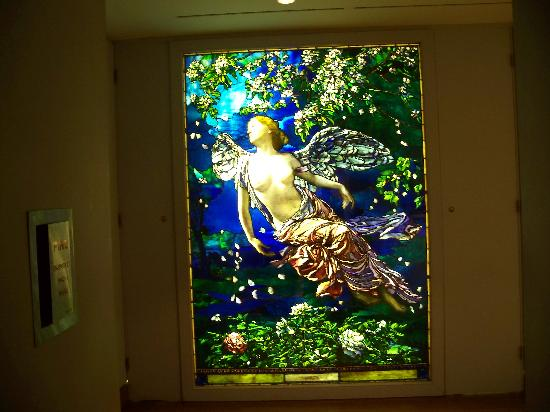 Philadelphia Museum of Art: stained glass panel