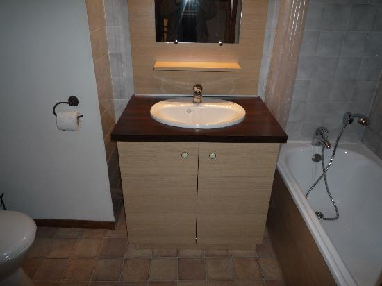 Residence Cybele : La salle de bains