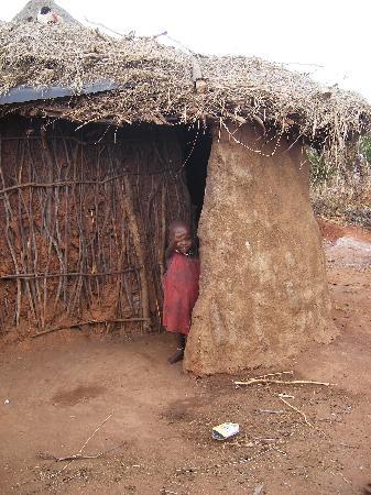 Watamu, Kenia: bimbo masai