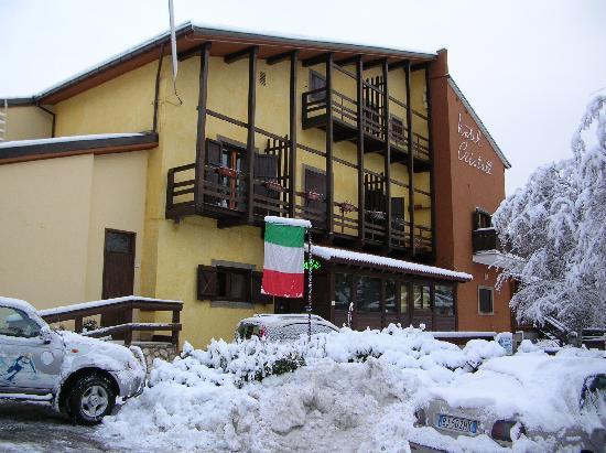 Rocca di Cambio, Italia: hotel cristall