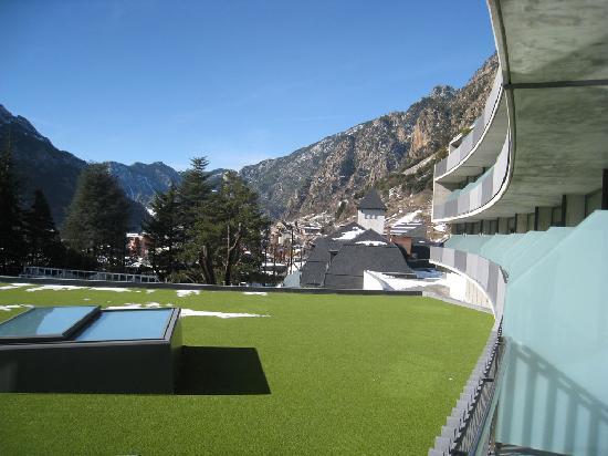 Andorra Park Hotel : Vue Balcon 1er etage