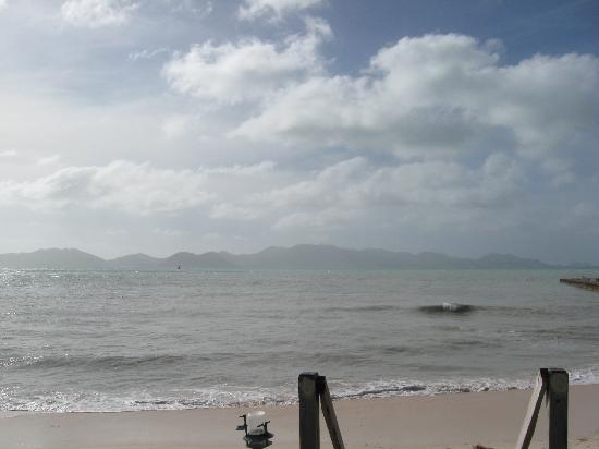 The Ferryboat Inn: View of St Martin From Hotel