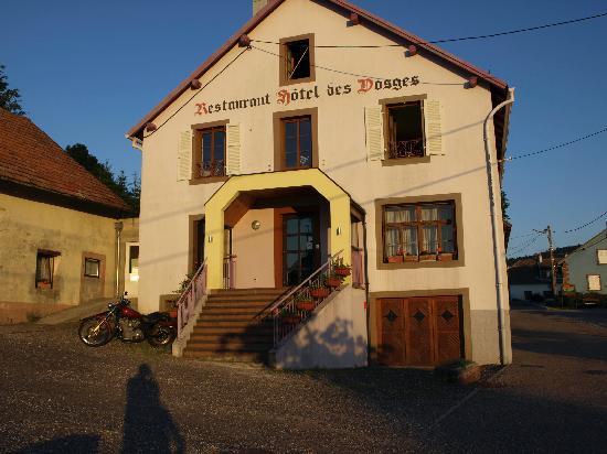 Hotel Restaurant des Vosges : Hotel