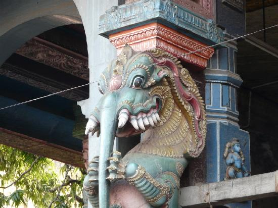 Sree Subramanya Swami Temple: Thiruparamkundram - particolare