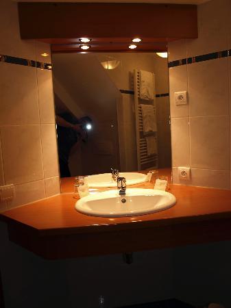 Hotel Restaurant des Vosges : en-suite