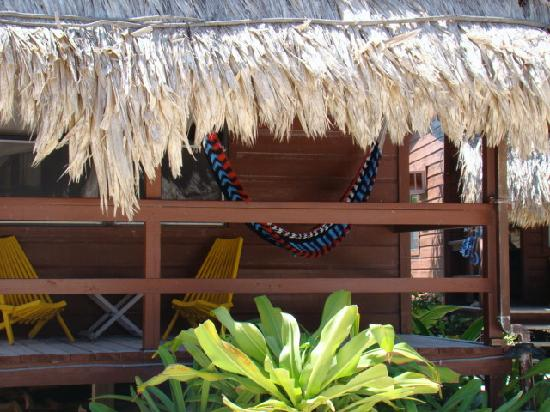Capricorn Resort: Front porch of Cabana