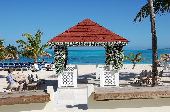 Breezes Resort Spa Bahamas Wedding