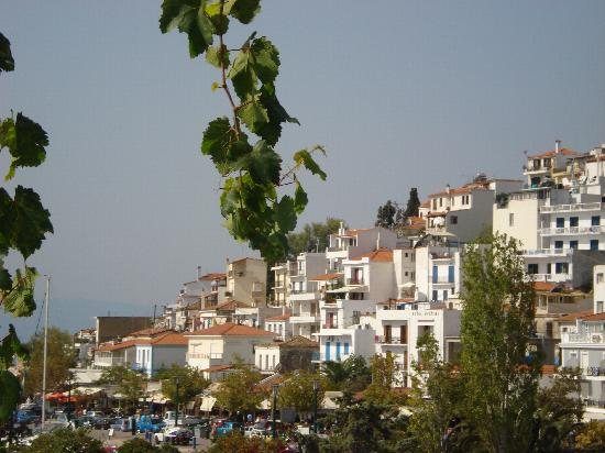 Hotel Alkyon: View from the roof