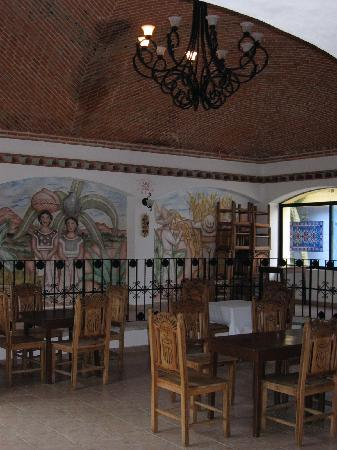 Hacienda Punta Sam: Dining room